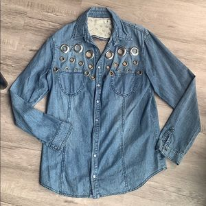 Jean Shirt From LF